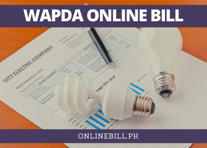 WAPDA online bill