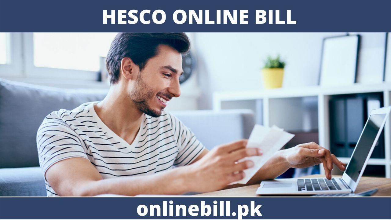 HESCO ONLINE BILL