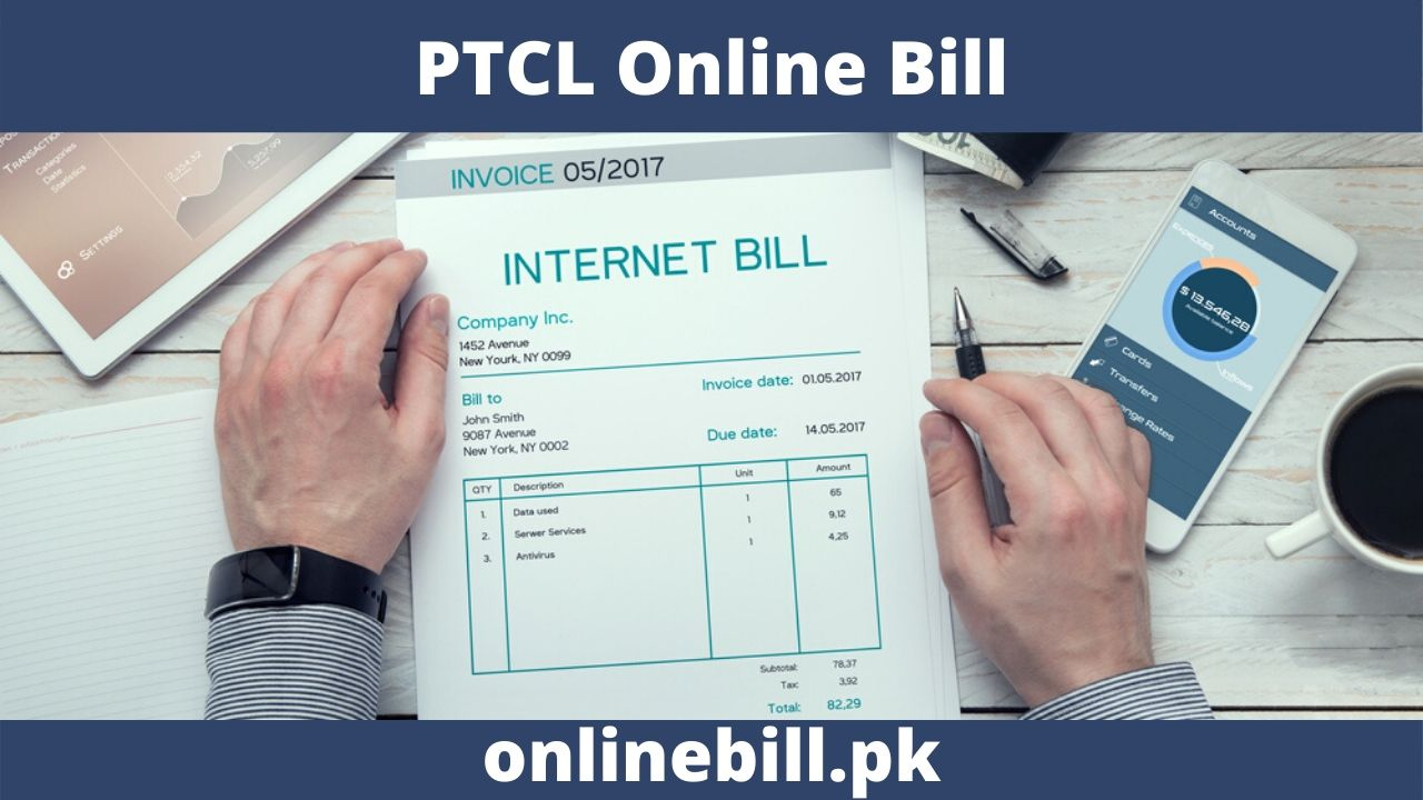 PTCL Online Bill Check and download print