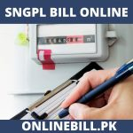 SNGPL Bill Online June 2020 - Check Your Latest Bill
